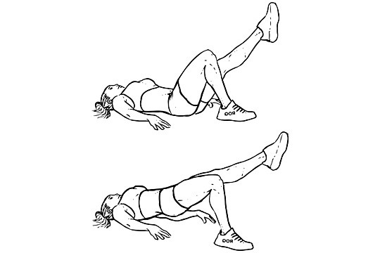 glute-bridge-single-leg