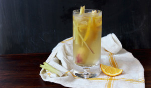 Sparkling Oolong Lemongrass Ginger Tea