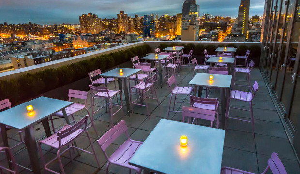 Watch the Fireworks from the Mr. Purple Rooftop. (Tickets can be purchased here)