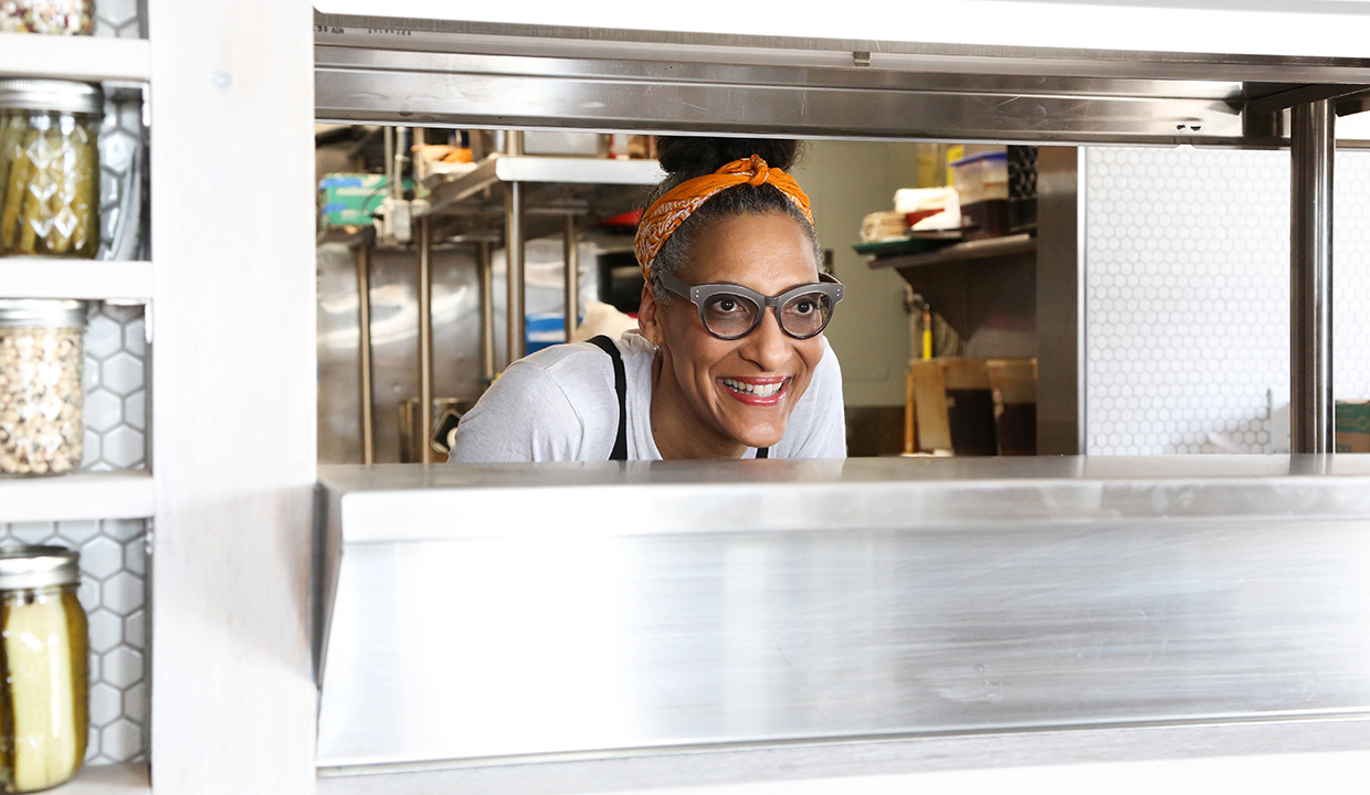 The Chew's Carla Hall: On Must Try Restaurants, Dinner Party Tips & Healthy Go-Tos