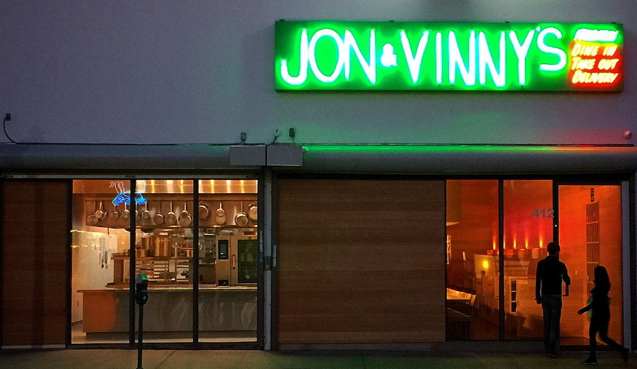 Jon & Vinny's: Recommended by: Lorenza Izzo (Actress)