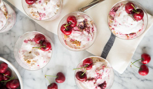 Cherry Crunch Ice Cream - Get the Recipe!