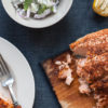 Spice Rubbed Planked Salmon with Cucumber Sauce - Get the Recipe!