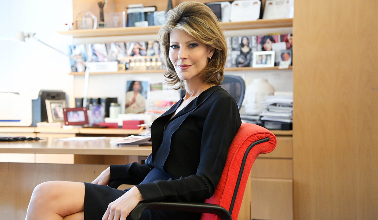 ELLE Magazine's EIC Robbie Myers: On Working For Andy Warhol, Good Content & Ricky Martin