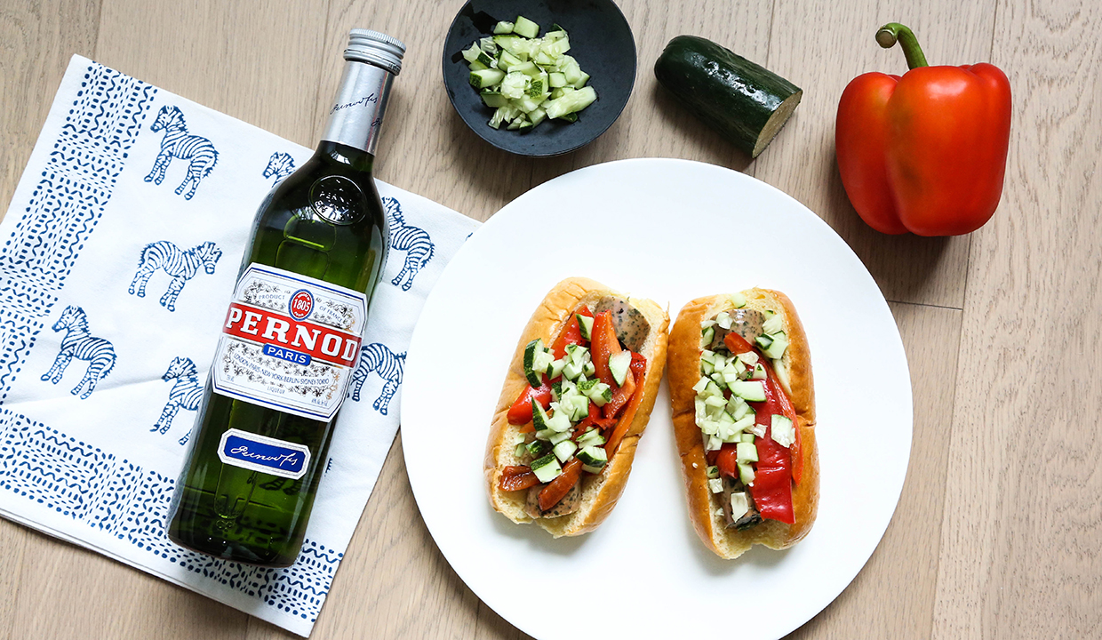 Sausage & Peppers: TNP Original