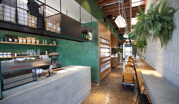 Paramount Coffee Project: Recommended by: Nick Mathers (Restaurateur)