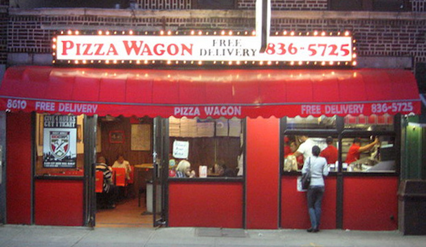 Pizza Wagon: Recommended by: Stellene Volandes (Editor-in-Chief, Town & Country)