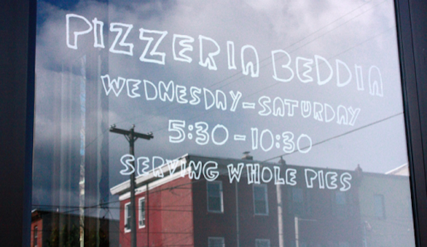 Pizzeria Beddia: Recommended by: Greg Vernick (Chef/Owner, Vernick Food & Drink)