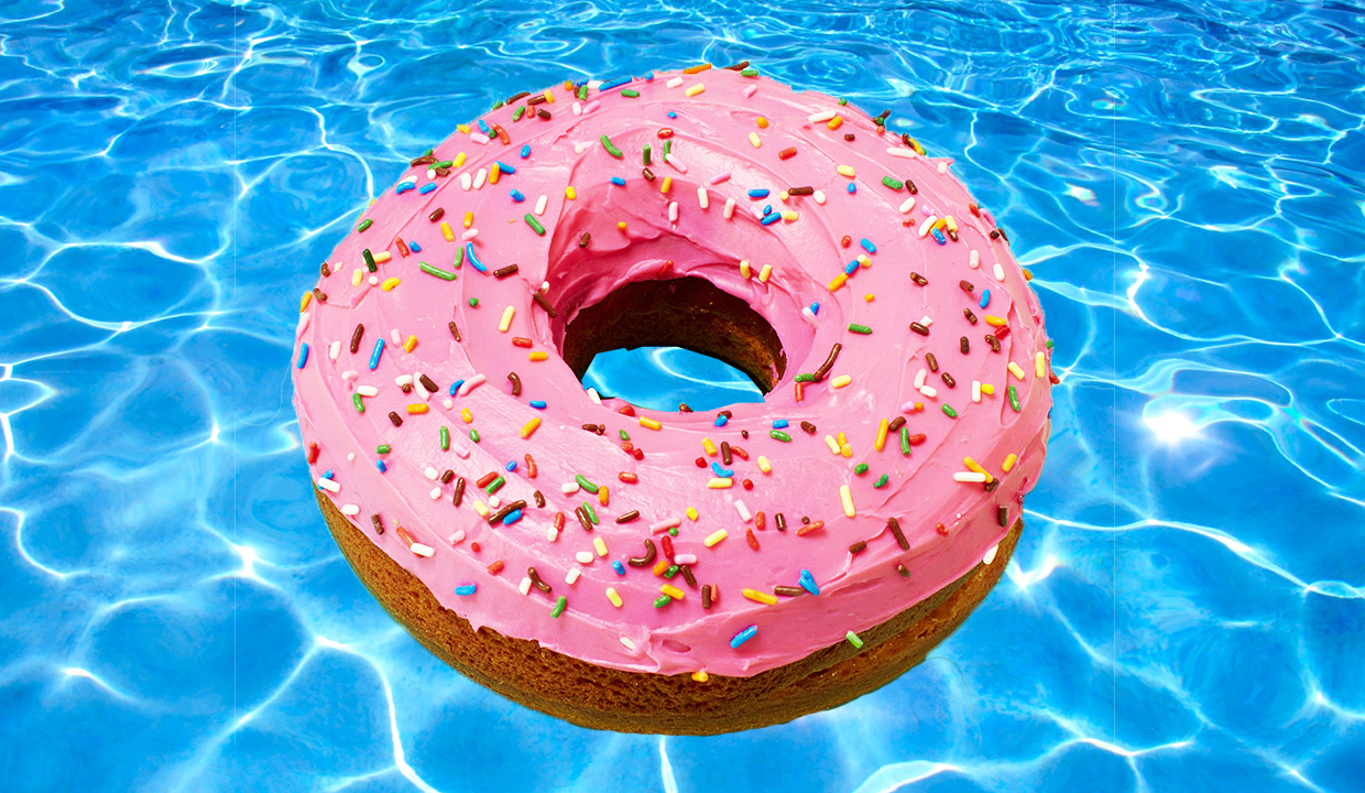 The Ultimate Pool Float Cake Recipe From Amirah Kassem