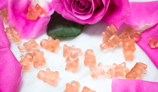 Rose Rosé Gummy Bears: From Liz Moody
