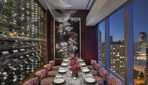 Asiate, 80 Columbus Circle One of the best views of Central Park and of the Upper West Side can be found from this private dining room.