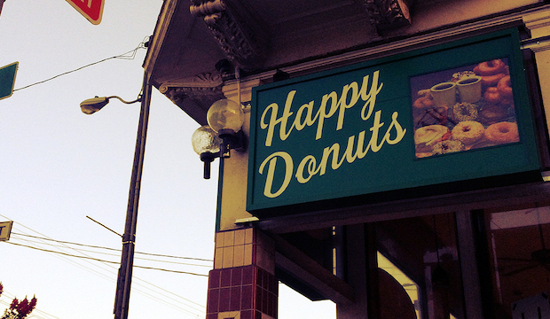 Happy Donuts: Recommended by: J.J. Totah (Actor)