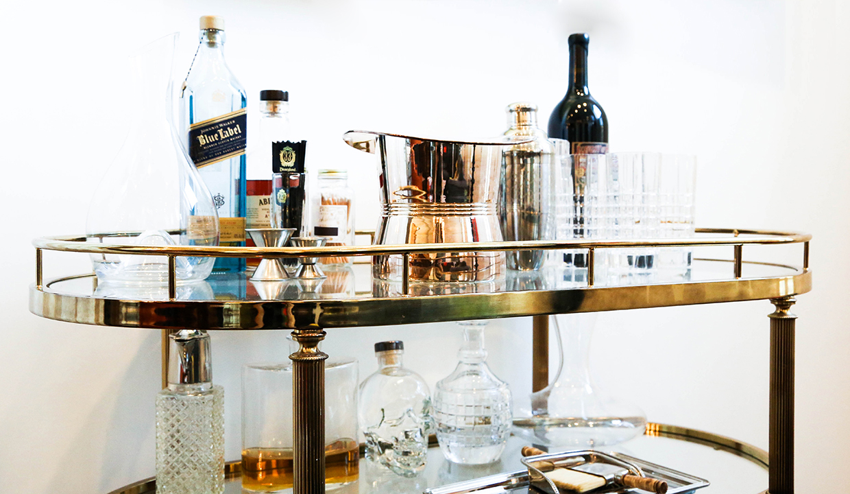 Don Draper Your Life: How To Build An At-HomeBar, Stat.