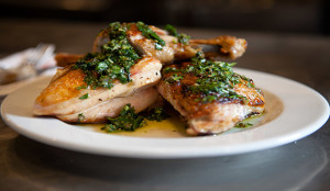 Barbuto, 775 Washington St.Order the Pollo Al Forno: JW Chicken with Salsa Verde.