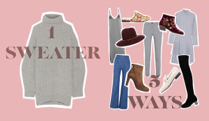 how-to-style-a-big-sweater