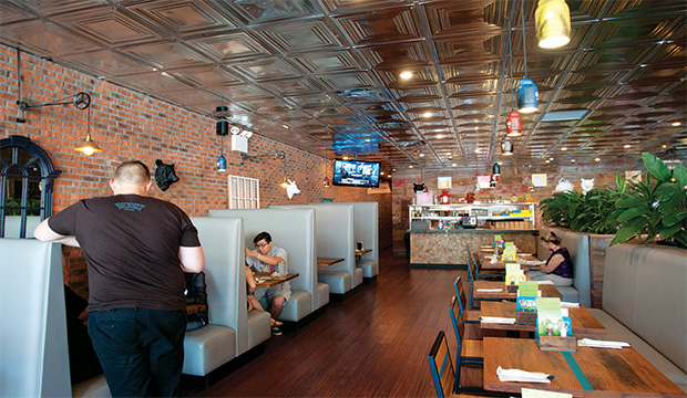 Bareburger - Midtown East: Recommended By: Dawn-Lyen Gardner (Actress)