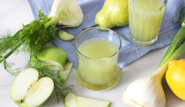 Fennel Pear And Apple Juice - Get The Recipe!