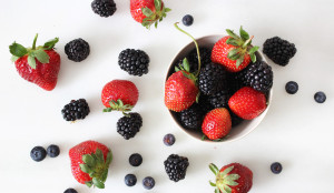 Mixed BerriesStrawberries, Blueberries, Raspberries all contain plenty of water as well as anthocyanins. They help a sweet tooth get over the hump of giving up artificial sweeteners.