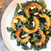 Fall Kale Salad With Roasted Squash, Hemp Hearts, Crispy Capers - Get The Recipe Here!