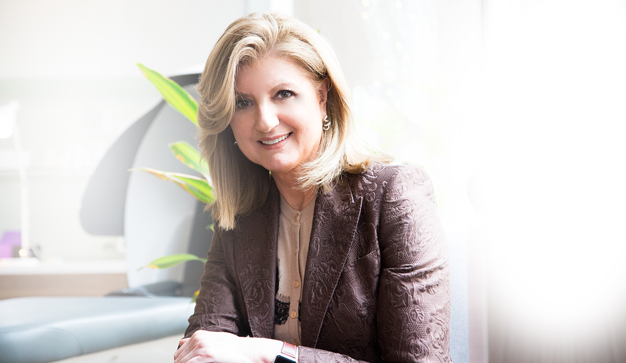 Arianna Huffington: Says Don't Miss The Moment & Fight 'Macho Burnout'