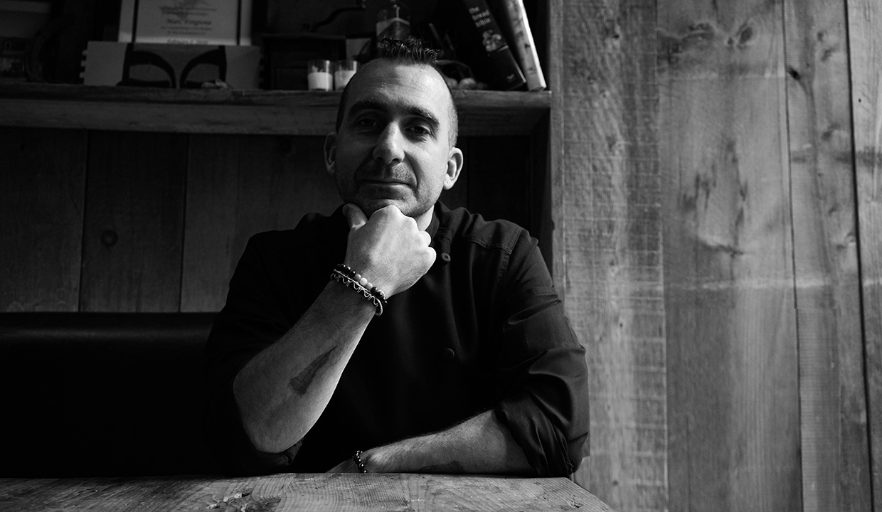 Chef Marc Forgione: On Mentors, NYC Pizza & Homemade Hot Sauce