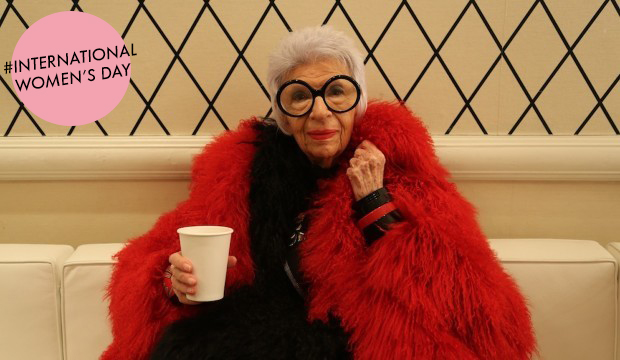 Iris Apfel On Personal Style: She's The Definition Of Graceful Aging