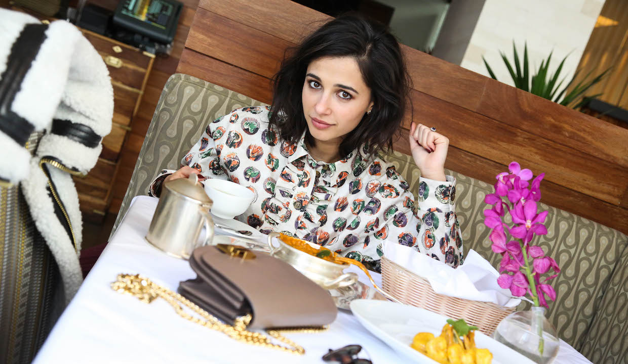 Actress Naomi Scott: On Christmas Dinner, Traveling To India & Balance