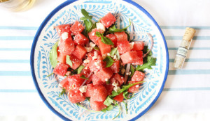 Watermelon Feta Salad - Get The Recipe!