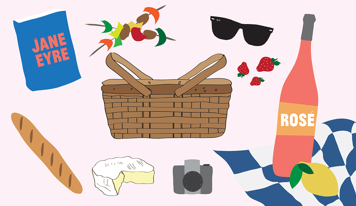Build The Ultimate Picnic Basket: It's Perfect For Your Next Date!