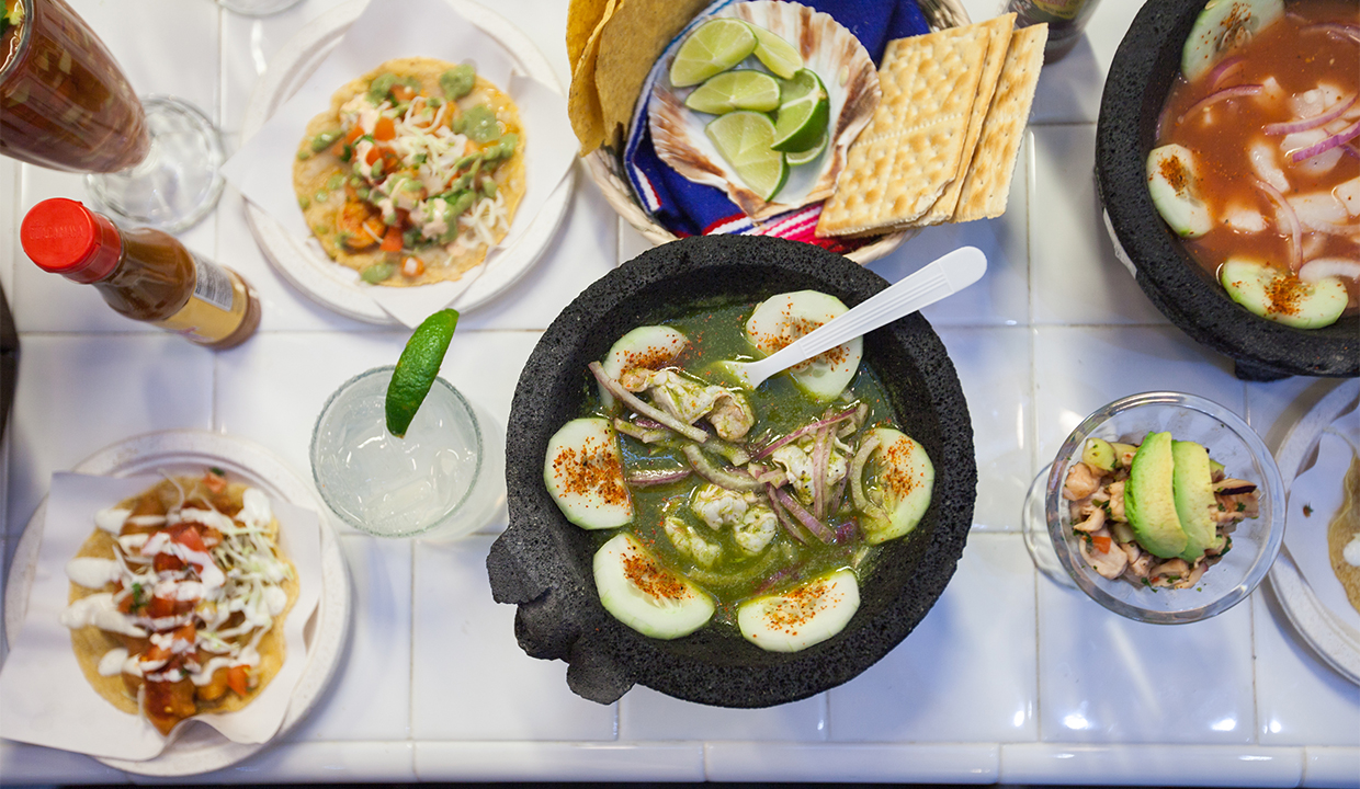 Los Mariscos: Recommended By: Lashana Lynch (Actor)