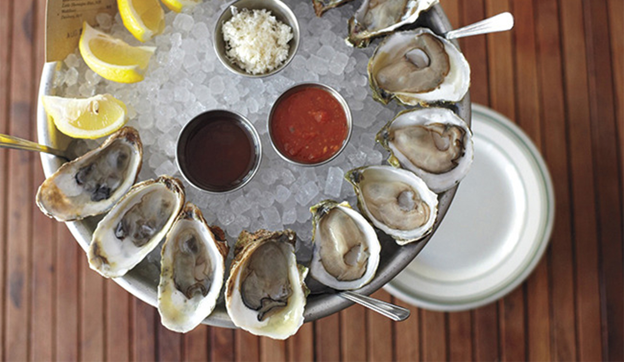 L&E Oyster Bar: Recommended By: Katie Aselton (Actress)