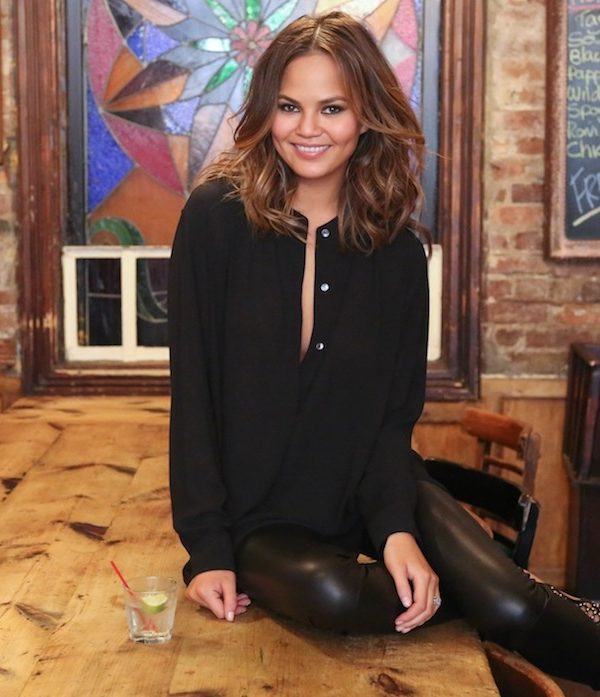 Chrissy Teigen Knows How to Eat