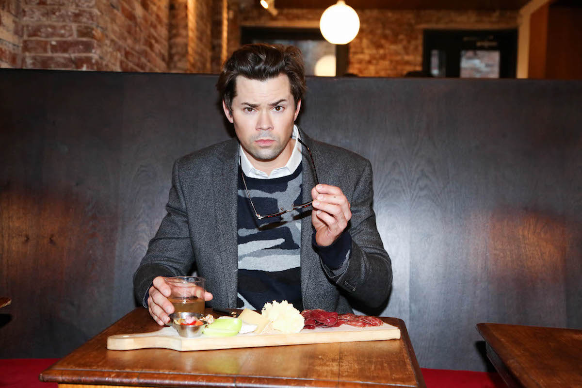 Andrew Rannells Eats Burritos in His Underwear