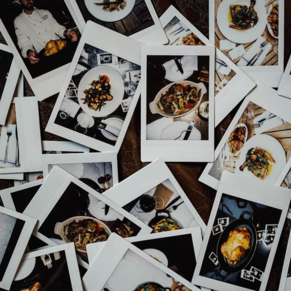 The Best Roast Chicken in Polaroids