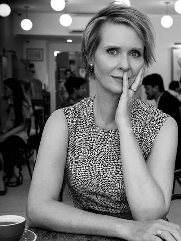 Cynthia Nixon Says Trust Yourself