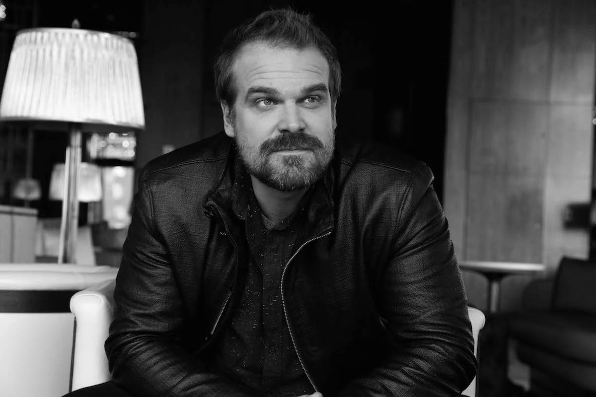 David Harbour Survived the Upside Down