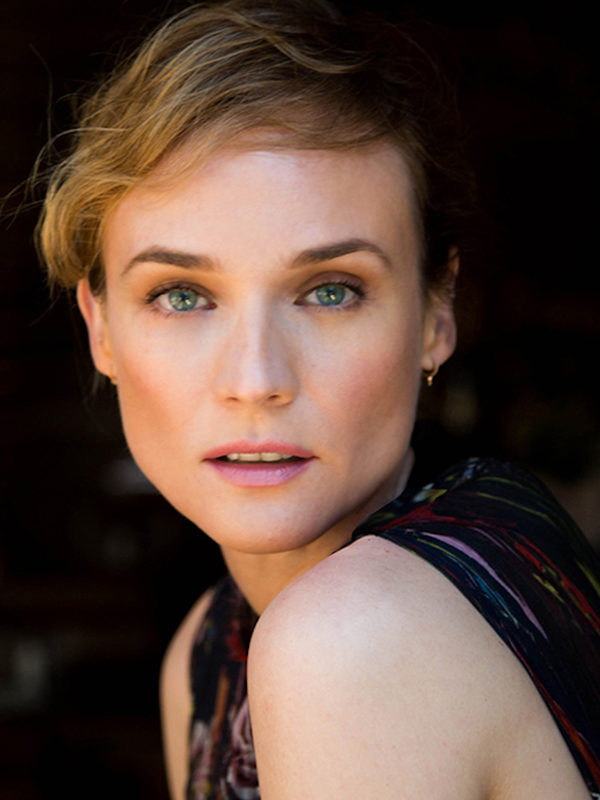 In Hair and Makeup with Diane Kruger