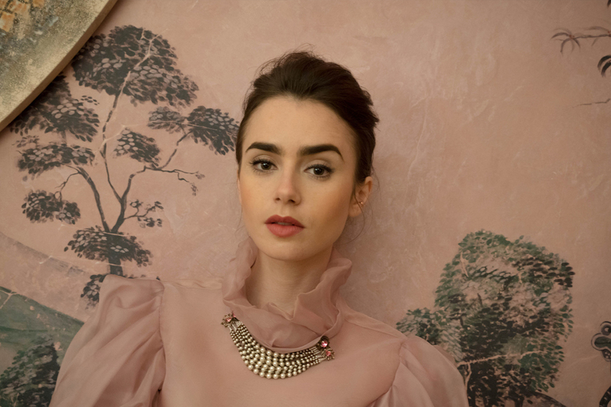 Lily Collins Wants to Have Dinner with Audrey Hepburn