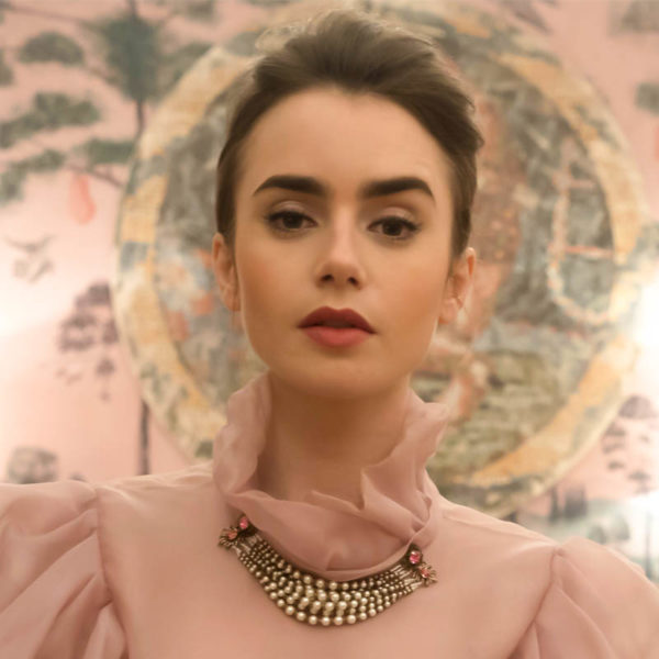 In Hair & Makeup with Lily Collins