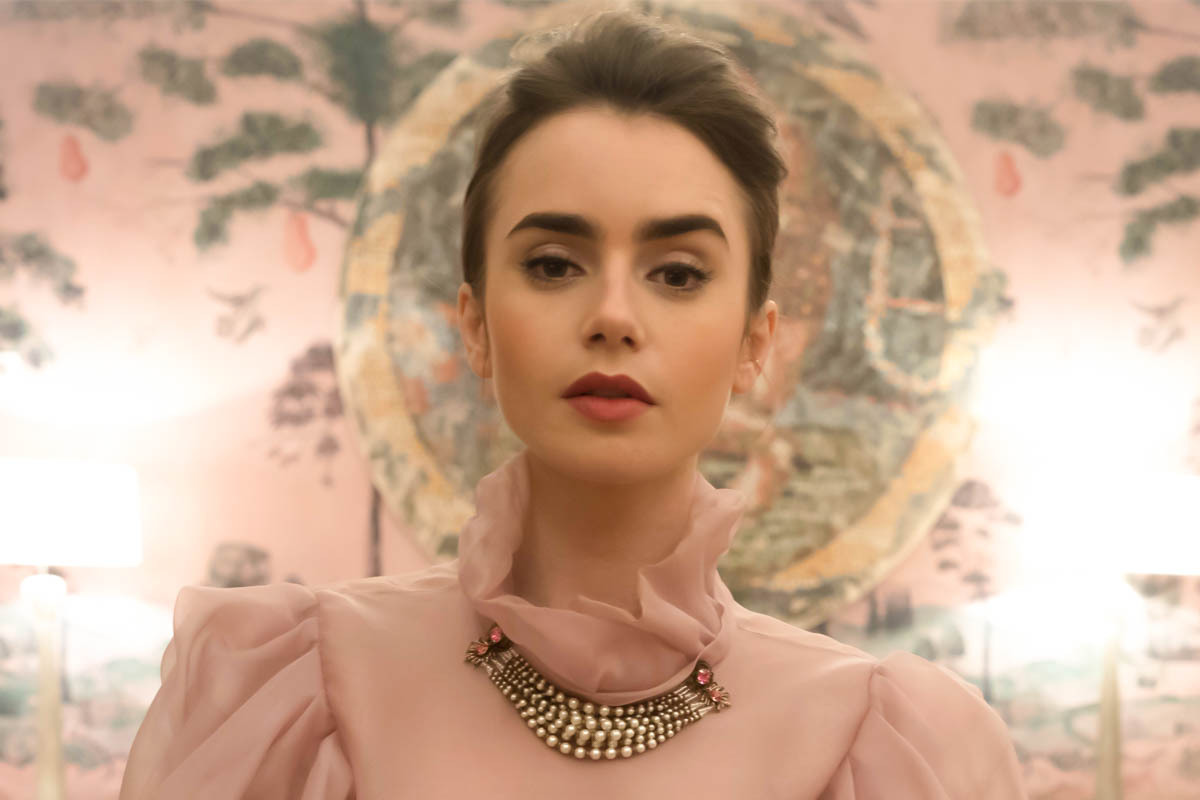 In Hair Makeup With Lily Collins