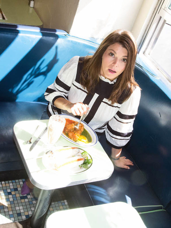Gail Simmons Tunes Out Negativity