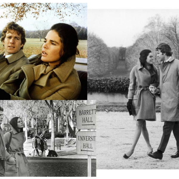 In Wardrobe with Ali MacGraw's Camel Coat