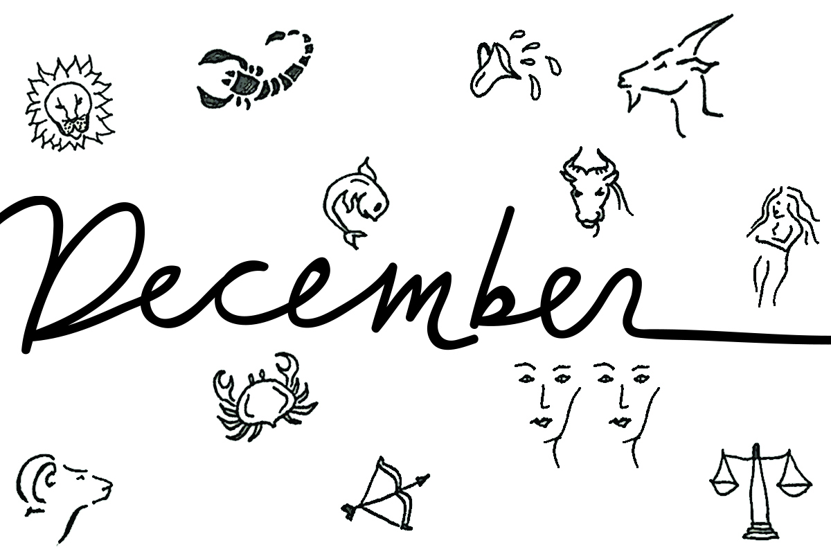 Your december horoscope the new potato your december horoscope biocorpaavc Image collections