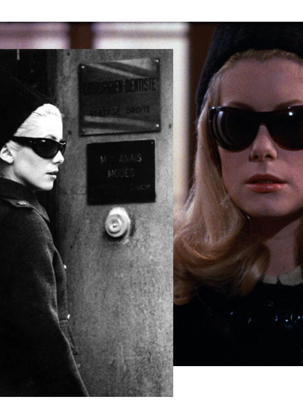 In Wardrobe with Catherine Deneuve's Sunglasses