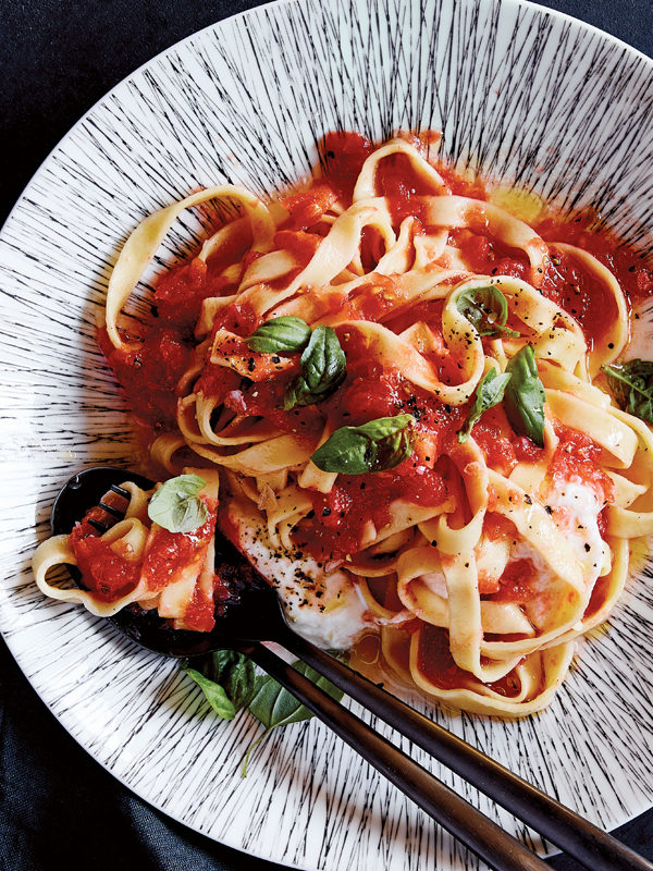 Your Sunday Pasta Recipe: From Our Cookbook!