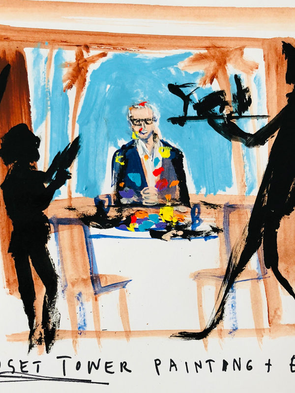 Artist Donald Robertson Loves Anything That Comes In A Bowl