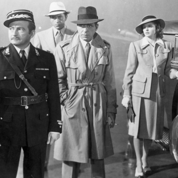 In Wardrobe with Humphrey Bogart's Casablanca Trench