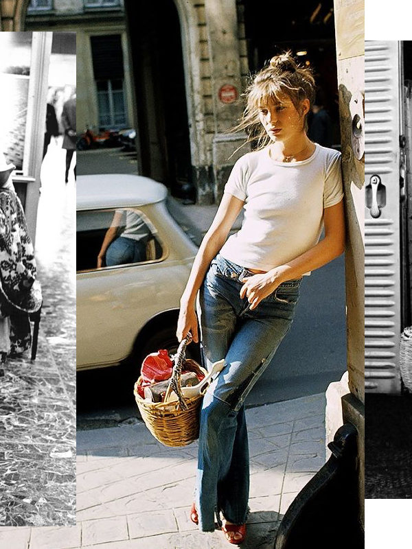 In Wardrobe with Jane Birkin's Basket Bag