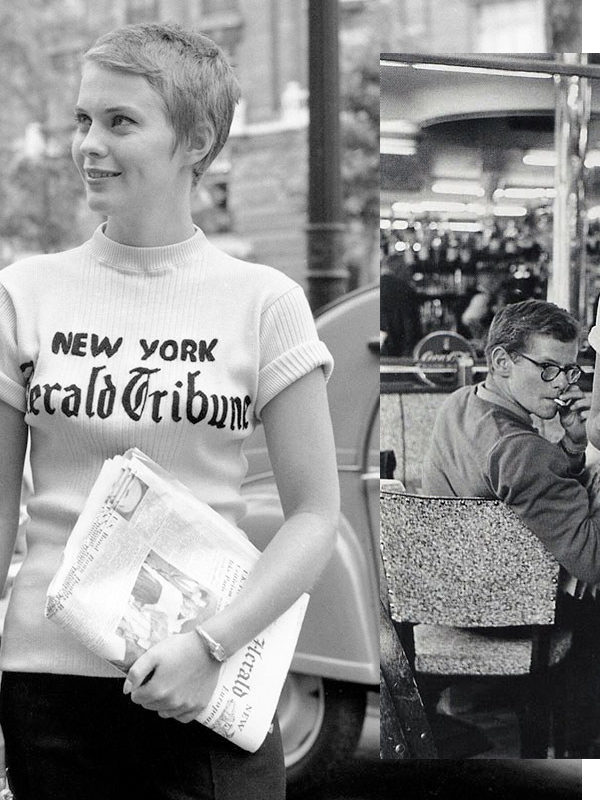 In Wardrobe with Jean Seberg's Printed T-Shirt