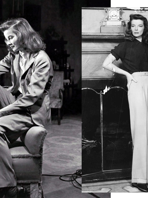 In Wardrobe with Katharine Hepburn's Trousers